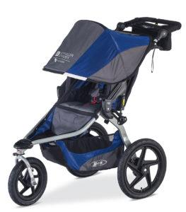 2016 BOB-Stroller Strides-Blue-FL-72RGB